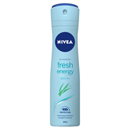 NIVEA Energy Fresh 48 h Antyperspirant w aerozolu dla kobiet 150 ml