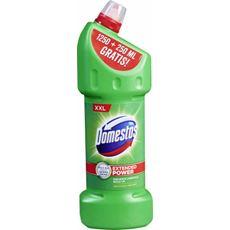 Domestos Przedłużona Moc Pine Fresh Płyn czyszcząco-dezynfekujący 1250 ml + 250 ml gratis