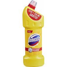Domestos Przedłużona Moc Citrus Fresh Płyn czyszcząco-dezynfekujący 1250 ml + 250 ml gratis