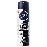 NIVEA MEN Black&White Invisible Original Antyperspirant w aerozolu 150 ml