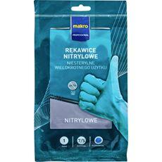 Makro Professional Rękawiczki nitrylowe M, 3 pary