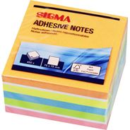 Sigma Bloczek neon 7,5x7,5 cm 450 kartek