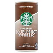 Starbucks Doubleshot Espresso Mleczny napój kawowy 200 ml