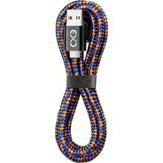 Exc Kabel Micro USB Diam 1,5m czarno-pomarańczowo-niebieski