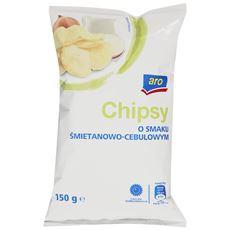 Aro Chipsy śmietankowo-cebulowe 150 g