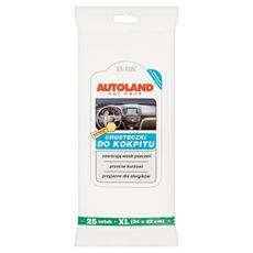 Autoland Car Care Chusteczki do kokpitu 25 sztuk