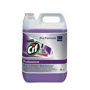 Cif Professional 2in1 Płyn do mycia dezynfekowania Cleaner Disinfectant 5 l