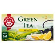 Teekanne Green Herbata zielona z cytryną 50 torebek