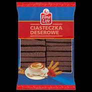Fine Life Wafle Crispy kakaowe w czekoladzie 900 g