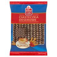 Fine Life Crunchy Black Ciastka kakaowe z kremem mlecznym 700 g
