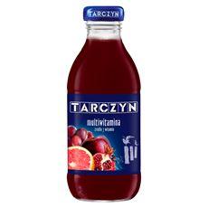 Tarczyn Multiwitamina 7 witamin Napój wieloowocowy 300 ml 15 sztuk