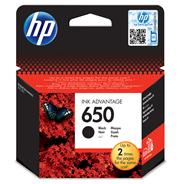 HP 650 Ink Advantage Tusz wkład atramentowy czarny