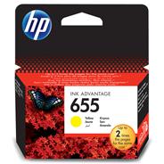 HP 655 Ink Advantage Tusz wkład atramentowy żółty