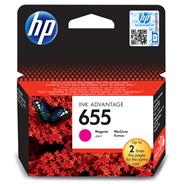 HP 655 Ink Advantage Tusz wkład atramentowy purpurowy