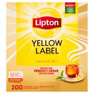 Lipton Yellow Label Herbata czarna 400 g (200 torebek)