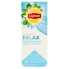 Lipton Herbatka ekspresowa z mięty 40 g (25 x 1,6 g)