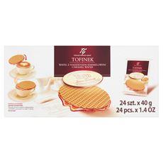 Tago Tofinek Wafel z nadzieniem karmelowym 24 x 40 g
