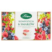 Bifix Kompozycja 6 herbatek owocowych ekspresowych 120 g (60 saszetek)