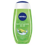 NIVEA Lemongrass & Oil Pielęgnujący żel pod prysznic 250 ml