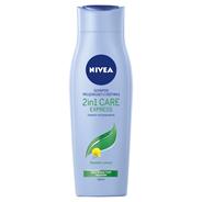 NIVEA 2in1 Care Express Szampon pielęgnujący z odżywką 250 ml