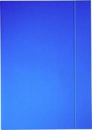 Sigma Teczka z gumką niebieska A4