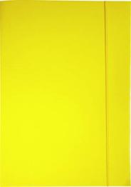 Sigma Teczka z gumką żółta A4