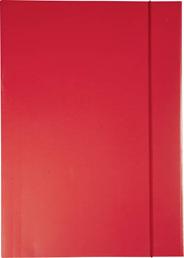 Sigma Teczka z gumką czerwona A4