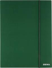 Sigma Teczka z gumką zielona 1 cm A4