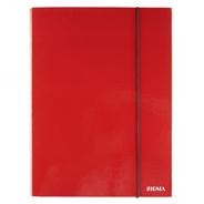 Sigma Teczka z gumką czerwona 3 cm A4