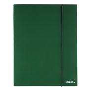 Sigma Teczka z gumką zielona 3 cm A4