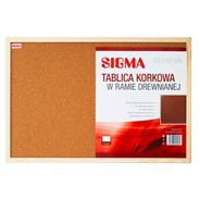 Sigma Tablica korkowa 40x60 cm