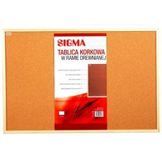 Sigma Tablica korkowa 90 x 60 cm