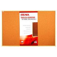 Sigma Tablica korkowa 120 x 80 cm