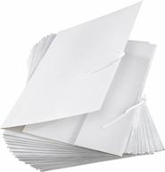 Aro Teczka biała wiązana 25 sztuk