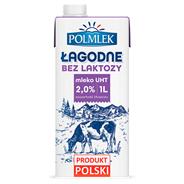 Łagodne Mleko lekkostrawne UHT 2% 1 l