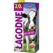 Polmlek Mleko o obniżonej zawartości laktozy UHT 2% 12 sztuk