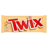 Twix Baton z ciastkami i karmelem oblany czekoladą 50 g 30 sztuk