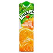 Tymbark Nektar pomarańcza z mandarynką 1 l 6 sztuk