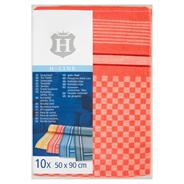 H-Line Ścierki kuchenne 10 x 50 x 90 cm 10 sztuk