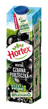 Hortex Czarna porzeczka Nektar 1 l 6 sztuk