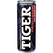 Tiger Energy Drink Gazowany napój energetyzujący 250 ml 24 sztuki