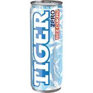 Tiger Zero Gazowany napój energetyzujący bez cukru 250 ml 12 sztuk