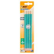 BiC Evolution Ecolutions Bezdrzewny ołówek grafitowy z gumką HB 8 sztuk