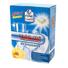 Fine Dreaming All in One Lemon Tabletki do zmywarki 1600 g (80 sztuk)