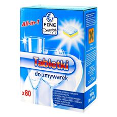 Fine Dreaming All in One Regular Tabletki do zmywarki 1600 g (80 sztuk)