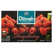 Dilmah Cejlońska czarna herbata z aromatem maliny 40 g (20 torebek)