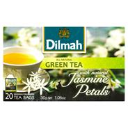Dilmah Zielona herbata z kwiatami jaśminu 30 g (20 kopert)