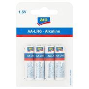 Aro Alkaline AA-LR6 1,5V Bateria alkaliczna 4 sztuki