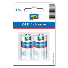 Baterie alkaliczne ARO LR14 2 szt