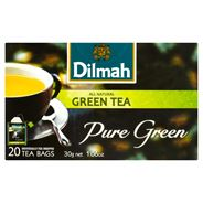 Dilmah Pure Green Herbata zielona 30 g (20 kopert)